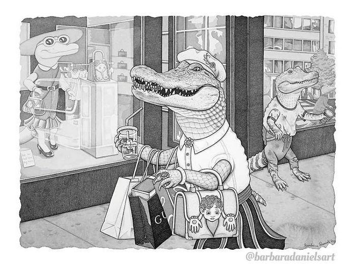 Esta artista critica a maneira como tratamos nosso mundo com suas ilustrações instigantes (40 fotos) 7