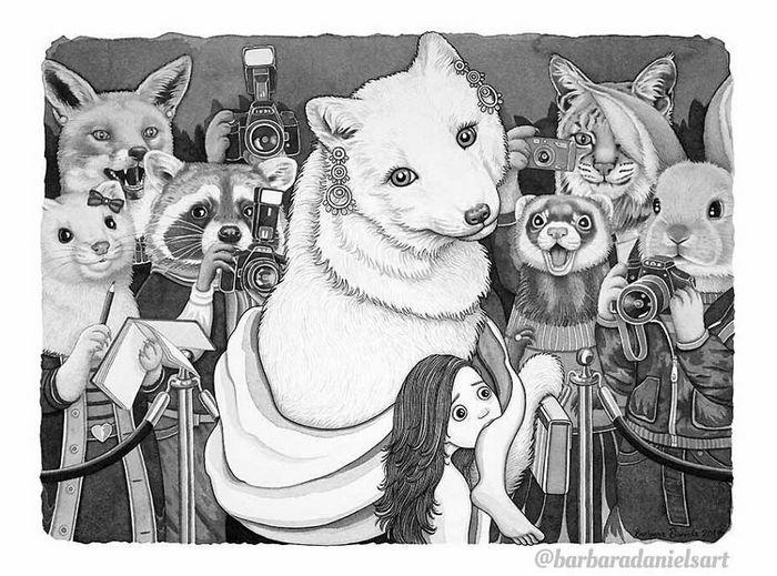 Esta artista critica a maneira como tratamos nosso mundo com suas ilustrações instigantes (40 fotos) 12