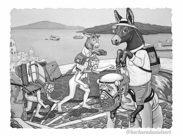 Esta artista critica a maneira como tratamos nosso mundo com suas ilustrações instigantes (40 fotos) 32