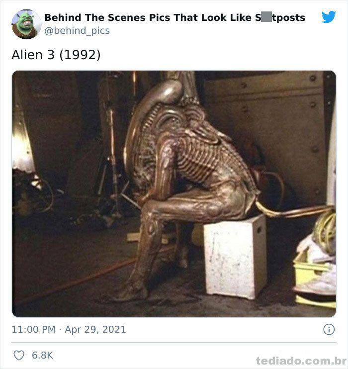 Esta página do Twitter reúne fotos dos bastidores que parecem memes ruins (30 fotos) 18