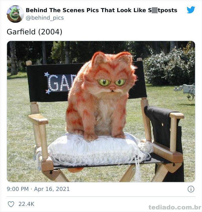 Esta página do Twitter reúne fotos dos bastidores que parecem memes ruins (30 fotos) 21