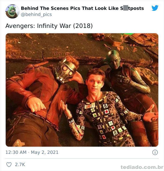 Esta página do Twitter reúne fotos dos bastidores que parecem memes ruins (30 fotos) 24