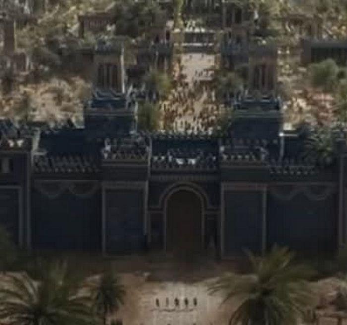 Estas imagens são do filme Os Eternos ou da novela Gênesis 14