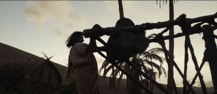 Estas imagens são do filme Os Eternos ou da novela Gênesis 9