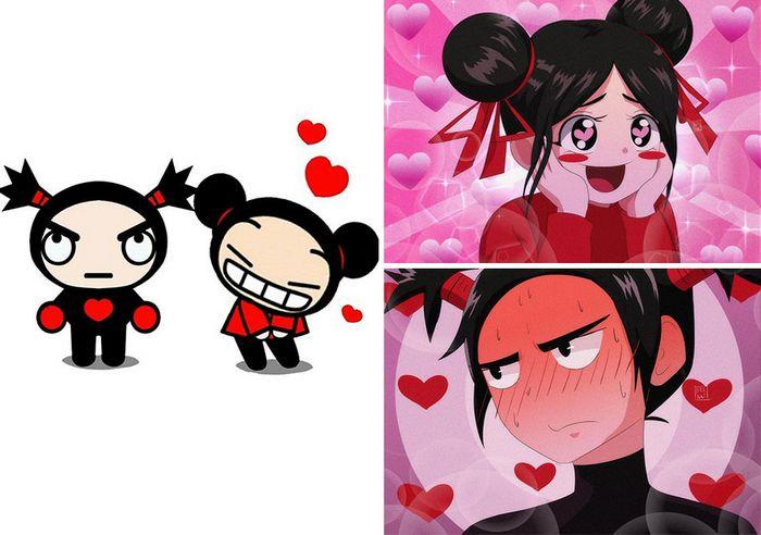 Este artista recria personagens populares em estilo de anime (60 fotos) 35