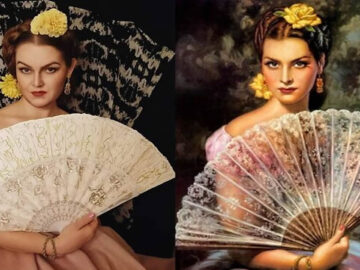 Mulher recria obras de arte com detalhes incríveis (42 fotos) 3