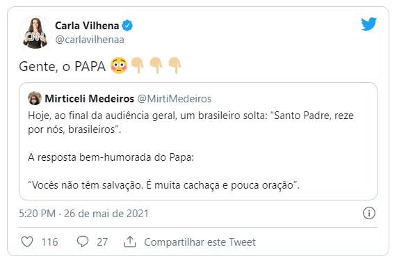 Papa Francisco acha que o Brasil não tem mais salvação 3
