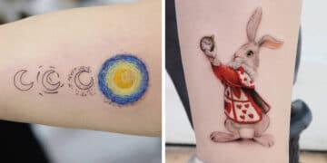 39 tatuagens detalhadas de personagens e pinturas populares de Hanak Adik 30
