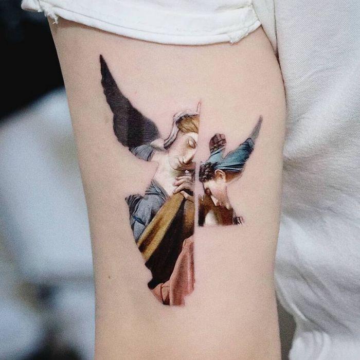 39 tatuagens detalhadas de personagens e pinturas populares de Hanak Adik 4