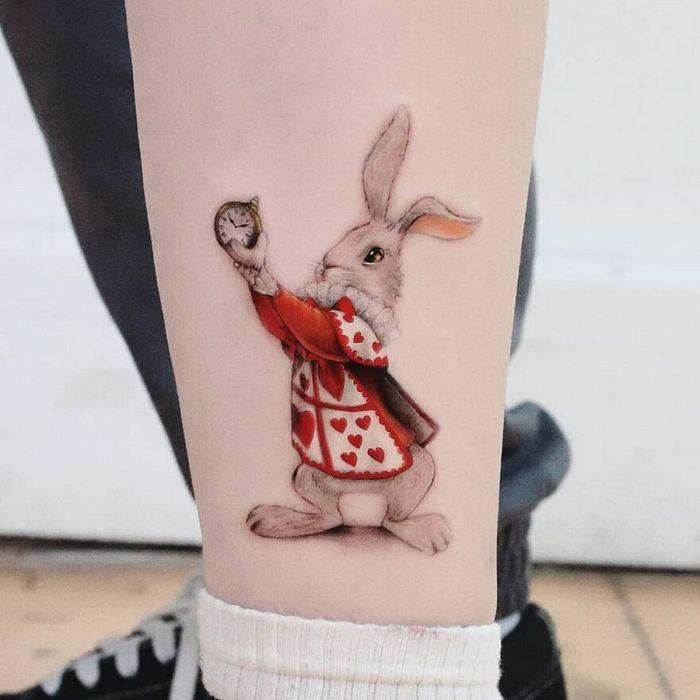 39 tatuagens detalhadas de personagens e pinturas populares de Hanak Adik 5