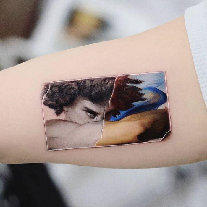 39 tatuagens detalhadas de personagens e pinturas populares de Hanak Adik 11