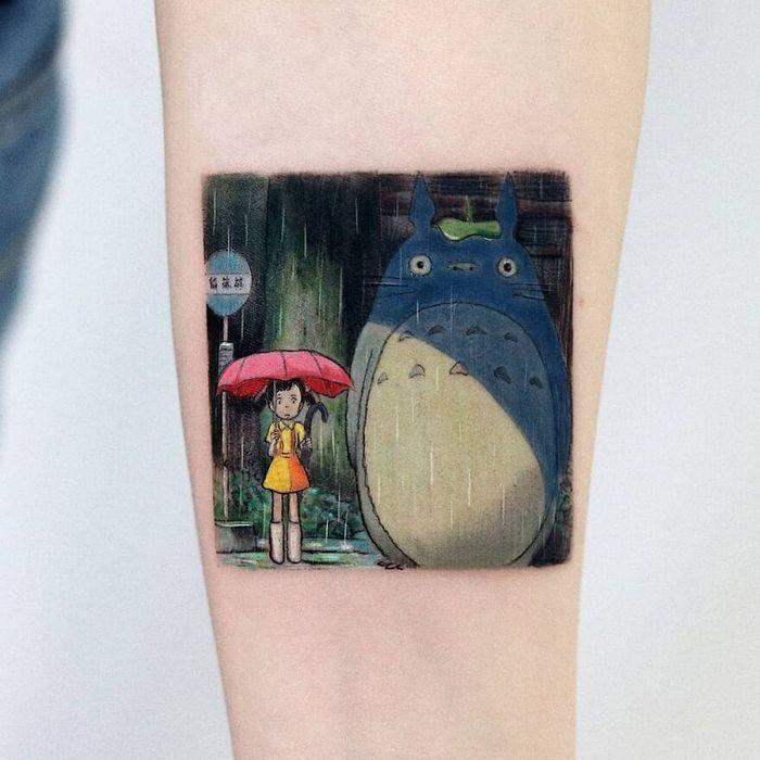 39 tatuagens detalhadas de personagens e pinturas populares de Hanak Adik 23