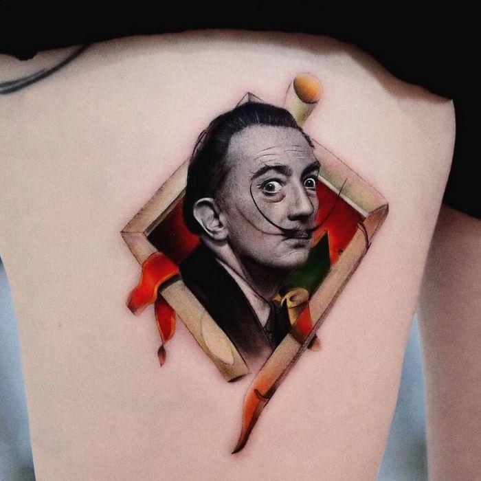 39 tatuagens detalhadas de personagens e pinturas populares de Hanak Adik 25