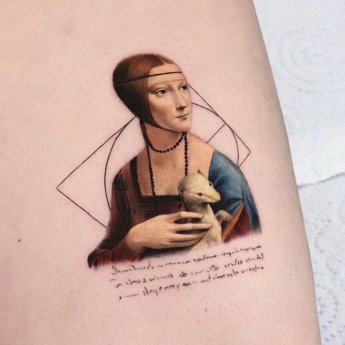 39 tatuagens detalhadas de personagens e pinturas populares de Hanak Adik 38