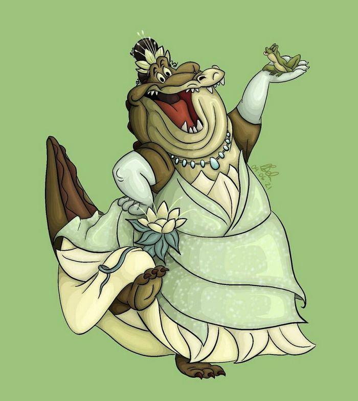 Artista desenha os ajudantes das princesas como protagonista (10 fotos) 8