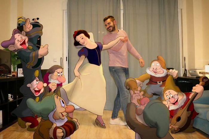 Artista recria situações do dia a dia com personagens da Disney e o resultado é incrível (35 fotos) 7