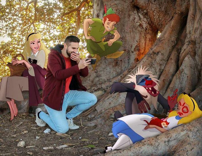 Artista recria situações do dia a dia com personagens da Disney e o resultado é incrível (35 fotos) 20