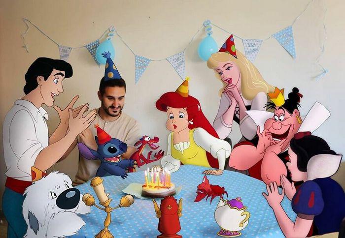 Artista recria situações do dia a dia com personagens da Disney e o resultado é incrível (35 fotos) 22