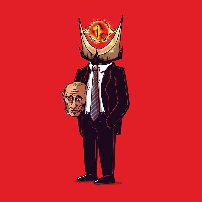 Artista remove máscaras de personagens populares para ver o que está por baixo (46 fotos) 31