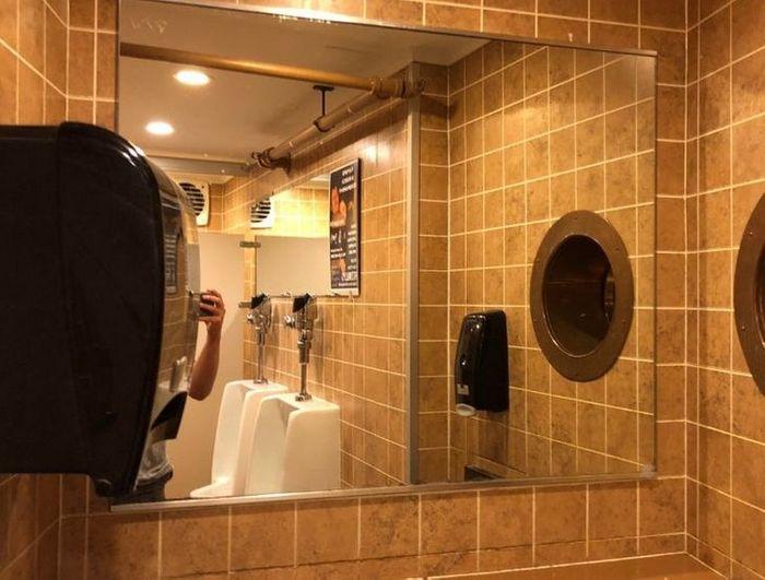 17 banheiros que dão a chance de admirar a paisagem 16