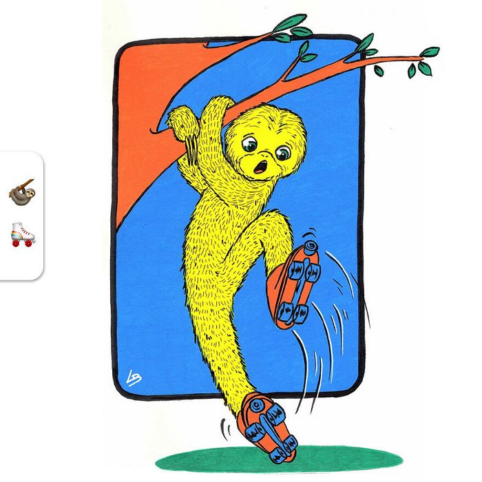 Desafio do emoji: Combinação aleatórios de emojis para artista desenhar (34 fotos) 31