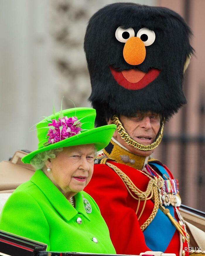 48 edições engraçadas que este artista criou da rainha Elizabeth 2