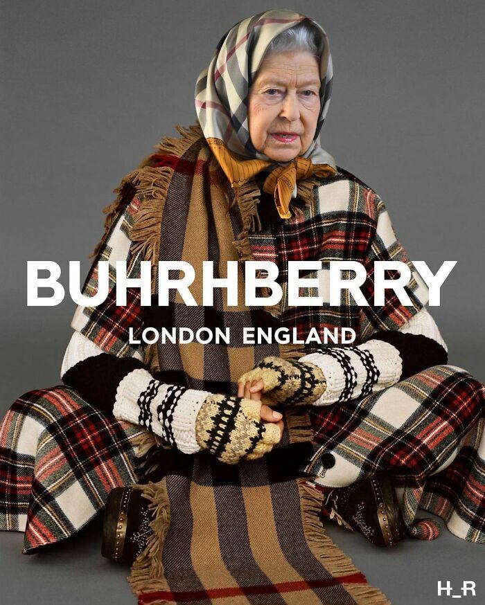 48 edições engraçadas que este artista criou da rainha Elizabeth 49