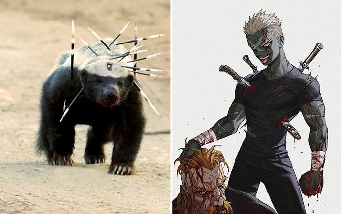Este artista usa animais como inspiração para criar personagens originais de anime (23 fotos) 7