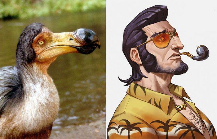 Este artista usa animais como inspiração para criar personagens originais de anime (23 fotos) 20
