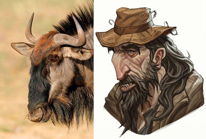 Este artista usa animais como inspiração para criar personagens originais de anime (23 fotos) 22