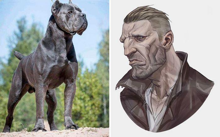 Este artista usa animais como inspiração para criar personagens originais de anime (23 fotos) 23
