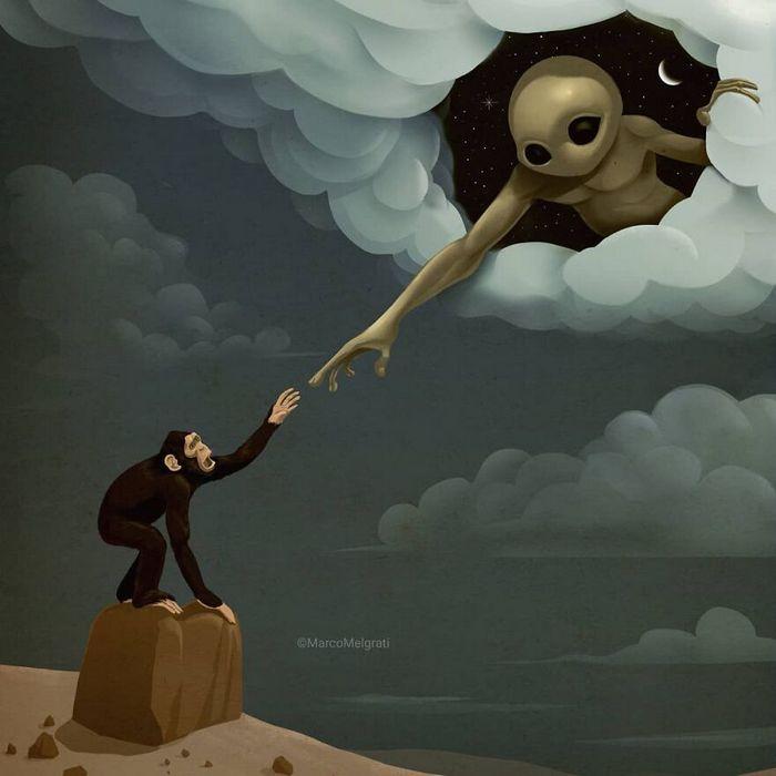 Ilustrador criticar nossa sociedade por meio de sua arte instigantes, repletas de críticas sociais (47 fotos) 5