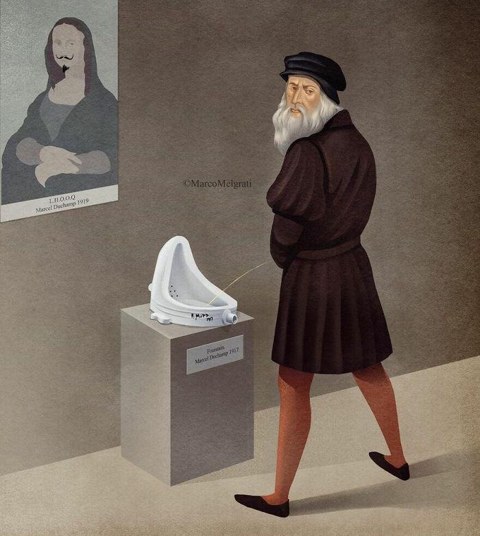 Ilustrador criticar nossa sociedade por meio de sua arte instigantes, repletas de críticas sociais (47 fotos) 20