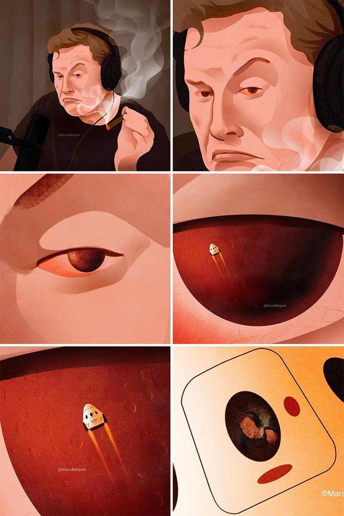 Ilustrador criticar nossa sociedade por meio de sua arte instigantes, repletas de críticas sociais (47 fotos) 22