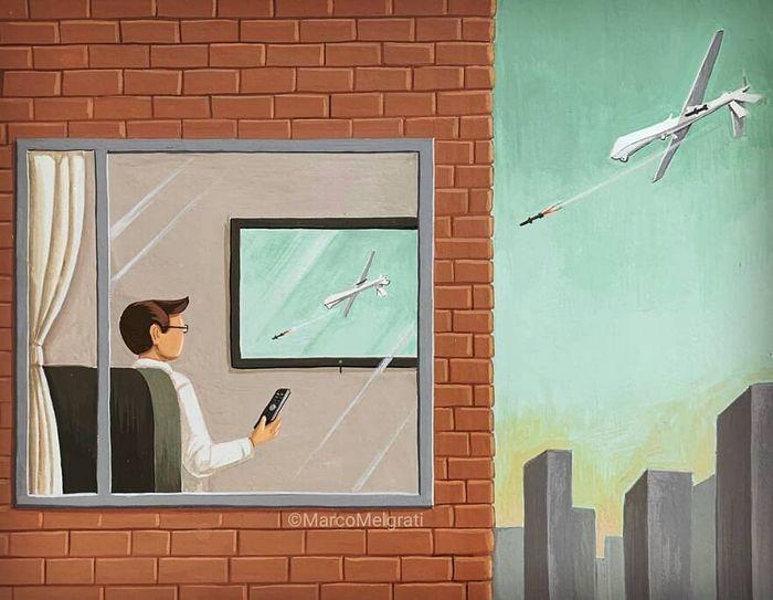 Ilustrador criticar nossa sociedade por meio de sua arte instigantes, repletas de críticas sociais (47 fotos) 26