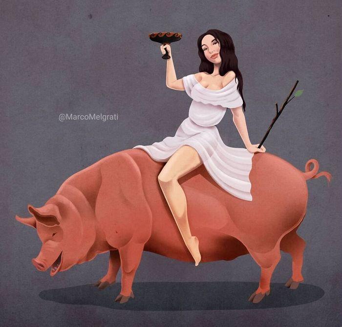 Ilustrador criticar nossa sociedade por meio de sua arte instigantes, repletas de críticas sociais (47 fotos) 34