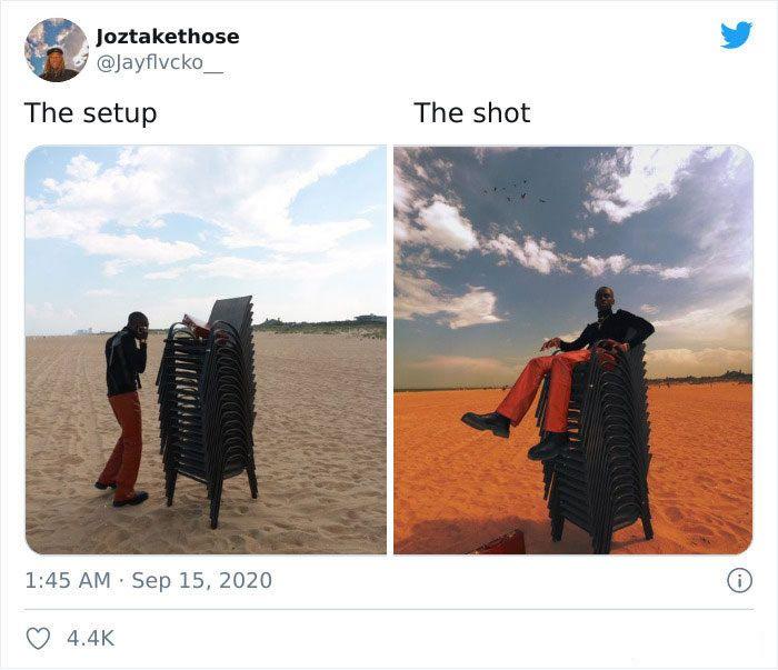 45 imagens mostram a verdade por trás da foto perfeita 42