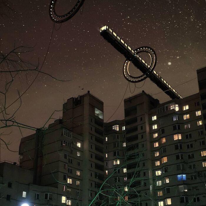 30 montagem de fotos inesperadas com animais gigantes por Vadim Solovyev 24
