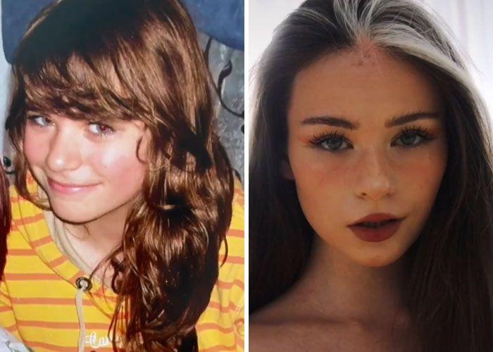 Novo desafio do TikTok: Como a puberdade te atingiu (45 fotos) 7