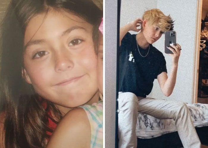 Novo desafio do TikTok: Como a puberdade te atingiu (45 fotos) 23