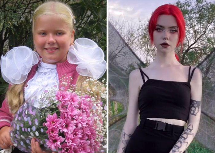 Novo desafio do TikTok: Como a puberdade te atingiu (45 fotos) 33
