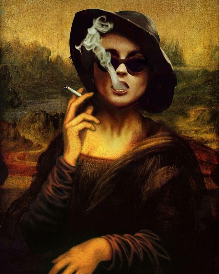 O que acontece quando você combina pinturas famosas e cultura pop (42 fotos) 9