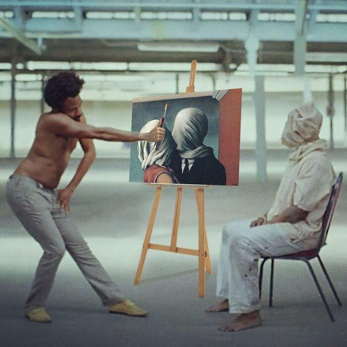 O que acontece quando você combina pinturas famosas e cultura pop (42 fotos) 22