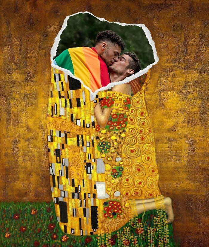 O que acontece quando você combina pinturas famosas e cultura pop (42 fotos) 35