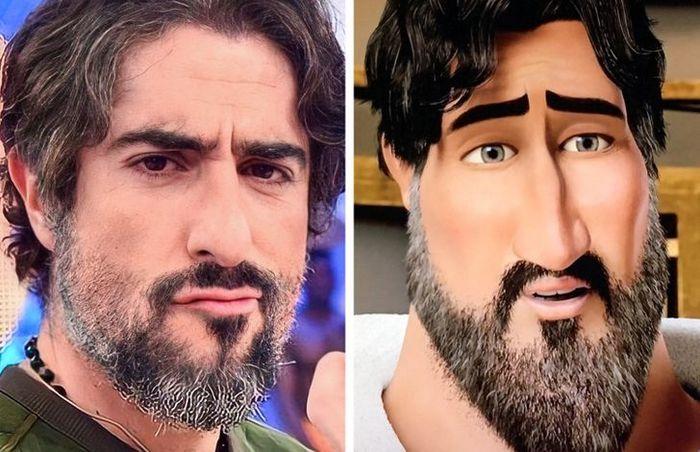 40 personagens de desenho animado que parecem sósias de famosos 21
