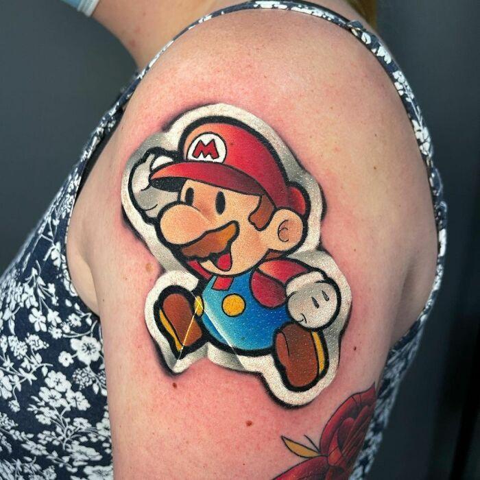 Tatuador cria tatuagens em adesivos que parecem reais (54 fotos) 3