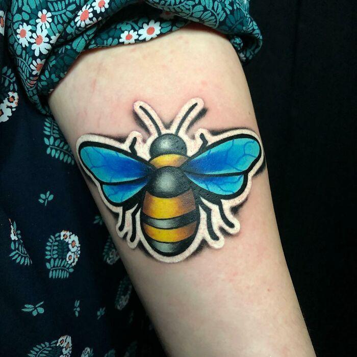 Tatuador cria tatuagens em adesivos que parecem reais (54 fotos) 21