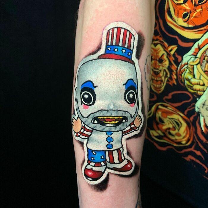 Tatuador cria tatuagens em adesivos que parecem reais (54 fotos) 33