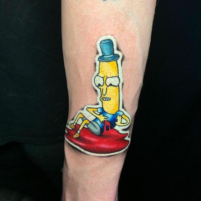 Tatuador cria tatuagens em adesivos que parecem reais (54 fotos) 37