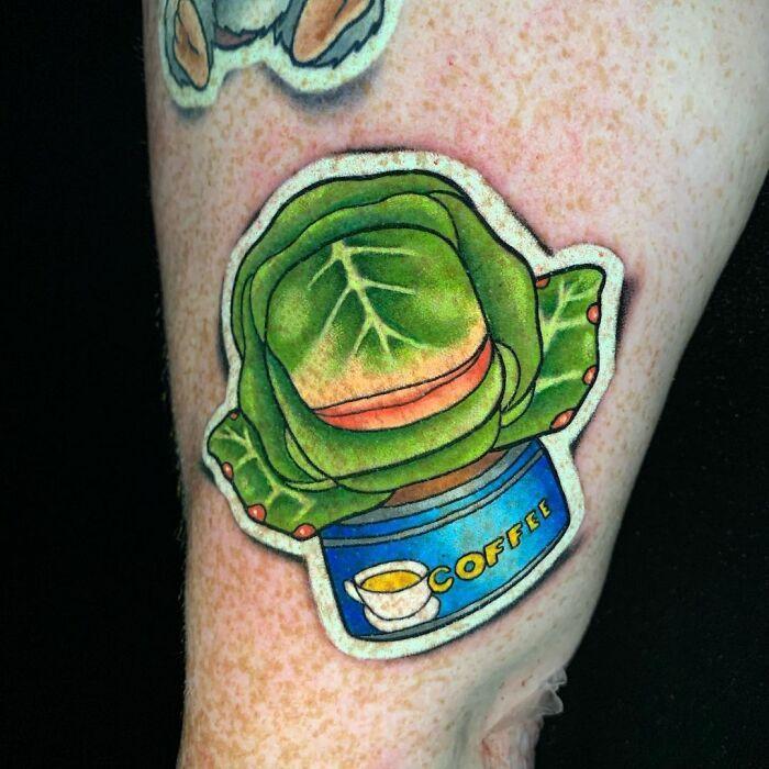 Tatuador cria tatuagens em adesivos que parecem reais (54 fotos) 42